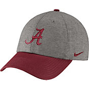 Nike Men's Alabama Crimson Tide Grey/Crimson Heritage86 Heather Adjustable Hat