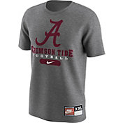 Nike Men's Alabama Crimson Tide 1997 Retro Grey Football T-Shirt