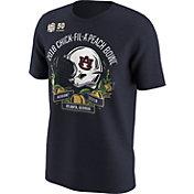 Nike Men's Auburn Tigers 2018 Chick-Fil-A Peach Bowl Bound Illustrated Helmet T-Shirt