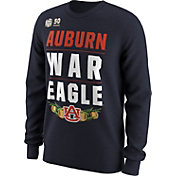 Nike Men's Auburn Tigers 2018 Chick-Fil-A Peach Bowl Bound Long Sleeve Verbiage T-Shirt