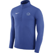 Nike Men's Boise State Broncos Blue Element Performance Quarter-Zip