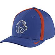 Nike Men's Boise State Broncos Blue Aerobill Swoosh Flex Classic99 Football Sideline Hat