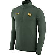 Nike Men's Baylor Bears Green Element Performance Quarter-Zip