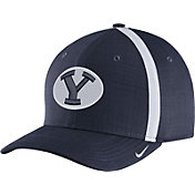 Nike Men's BYU Cougars Blue AeroBill Football Sideline Coaches Classic99 Hat