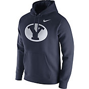 Nike Men's BYU Cougars Blue Club Fleece Hoodie