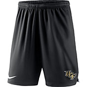 Nike Men's UCF Knights Black Knit Football Sideline Performance Shorts