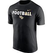 Nike Men's UCF Knights FootbALL Sideline Legend Black T-Shirt