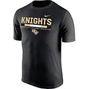 Nike Men's UCF Knights Football Staff Legend Black T-Shirt