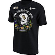 Nike Men's UCF Knights 2018 Chick-Fil-A Peach Bowl Bound Illustrated Helmet T-Shirt
