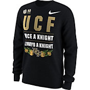 Nike Men's UCF Knights 2018 Chick-Fil-A Peach Bowl Bound Long Sleeve Verbiage T-Shirt