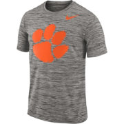 Nike Men's Clemson Tigers Charcoal Football Dri-FIT Travel T-Shirt