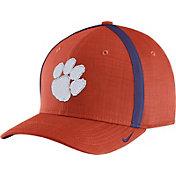 Nike Men's Clemson Tigers Orange AeroBill Football Sideline Coaches Classic99 Hat