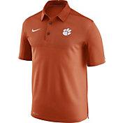 Nike Men's Clemson Tigers Orange Elite Football Sideline Polo