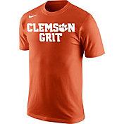 Nike Men's Clemson Tigers Orange Mantra Basketball T-Shirt