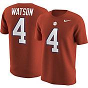 Nike Men's Clemson Tigers Deshaun Watson #4 Orange College Alumni T-Shirt