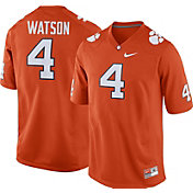 Nike Men's Deshaun Watson Clemson Tigers #4 Orange Replica College Alumni Jersey