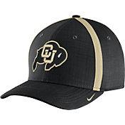 Nike Men's Colorado Buffaloes Black AeroBill Football Sideline Coaches Classic99 Hat
