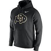 Nike Men's Colorado Buffaloes Black Club Fleece Hoodie