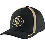 Nike Men's Colorado Buffaloes Black Aerobill Swoosh Flex Classic99 Football Sideline Hat