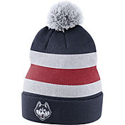 Nike Men's UConn Huskies Blue Football Sideline Beanie