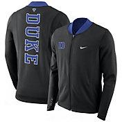 Nike Men's Duke Blue Devils Showtime Basketball Black Full-Zip Jacket