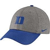 Nike Men's Duke Blue Devils Grey/Duke Blue Heritage86 Heather Adjustable Hat