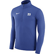 Nike Men's Duke Blue Devils Duke Blue Element Performance Quarter-Zip