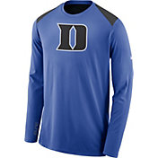 Nike Men's Duke Blue Devils Duke Blue Elite Shooter Long Sleeve Shirt