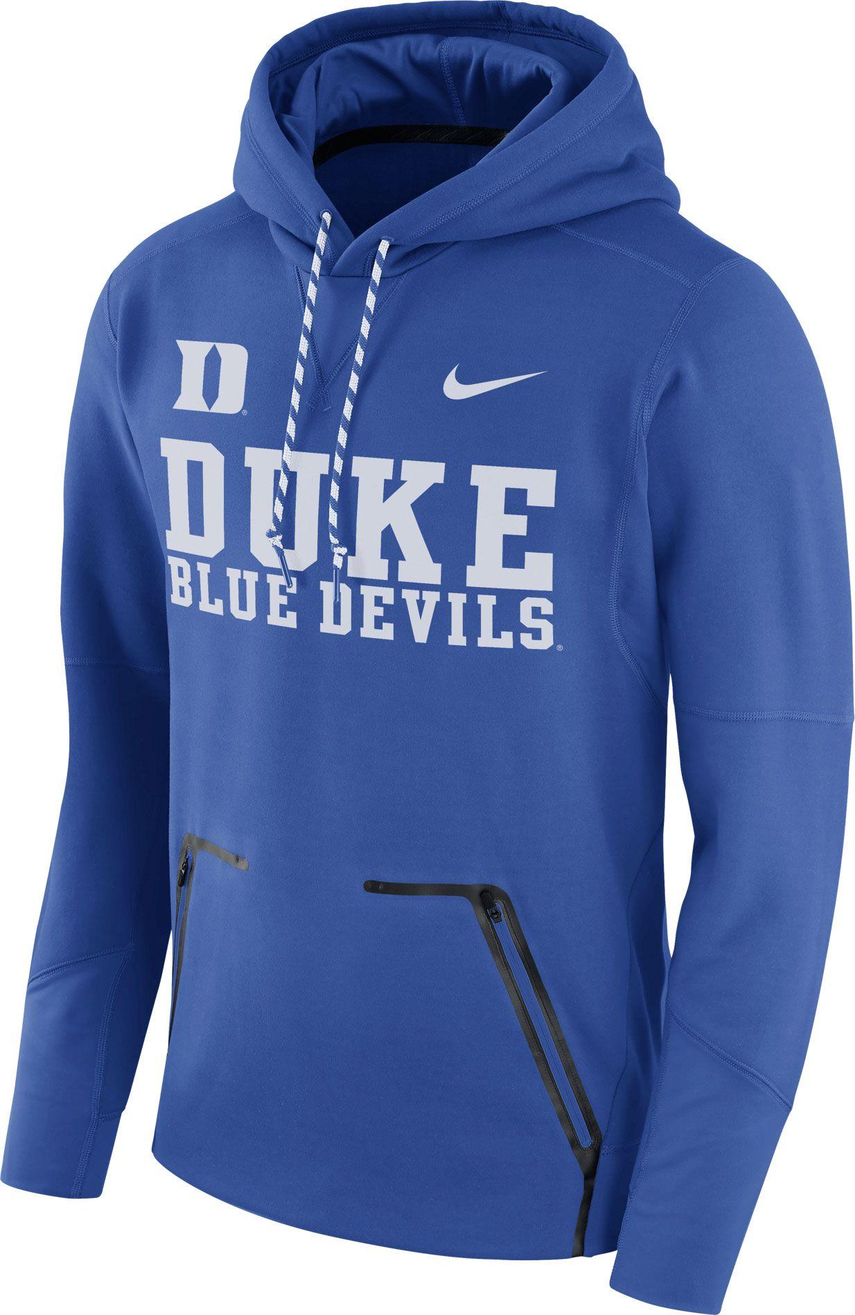 c5e6bde1ac30 Product Image · Nike Mens Duke Blue Devils Duke Blue Therma Player Elite Pullover  Hoodie