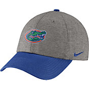 Nike Men's Florida Gators Grey/Blue Heritage86 Heather Adjustable Hat