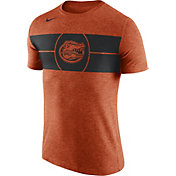 Nike Men's Florida Gators Orange Logo Basketball T-Shirt