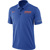 Nike Men's Blue Florida Gators Basketball Polo