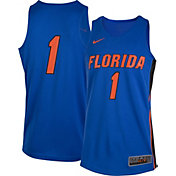 Nike Men's Florida Gators #1 Blue Replica Basketball Jersey