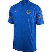 Nike Men's Florida Gators Blue Football Sideline Hot Jacket