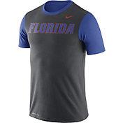 Nike Men's Florida Gators Anthracite/Blue Championship Drive Dri-Blend T-Shirt