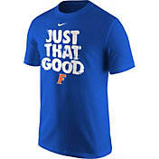 Nike Men's Florida Gators 'Just That Good' Baseball T-Shirt