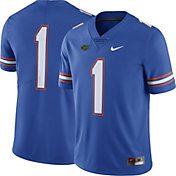 Nike Men's Florida Gators #1 Blue Limited Football Jersey