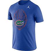 Jordan Men's Florida Gators Blue Dri-FIT Football Icon T-Shirt