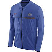 Nike Men's Florida Gators Blue Elite Hybrid Football Full-Zip Jacket