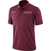 Nike Men's Garnet Florida State Seminoles Basketball Polo