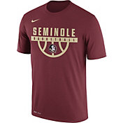 Nike Men's Florida State Seminoles Garnet Basketball Legend T-Shirt