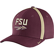 Nike Men's Florida State Seminoles Garnet AeroBill Football Sideline Coaches Classic99 Hat