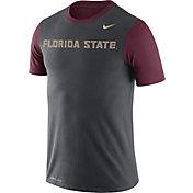 Nike Men's Florida State Seminoles Anthracite/Garnet Championship Drive Dri-Blend T-Shirt