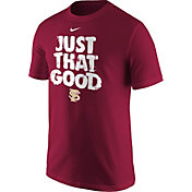 Nike Men's Florida State Seminoles 'Just That Good' Baseball T-Shirt
