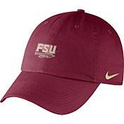 Nike Men's Florida State Seminoles Garnet Heritage86 Small Logo Adjustable Hat
