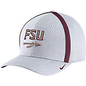 Nike Men's Florida State Seminoles White AeroBill Football Sideline Coaches Classic99 Hat
