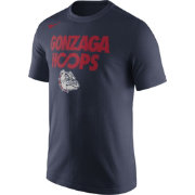 Nike Men's Gonzaga Bulldogs Blue 'Gonzaga Hoops' Basketball T-Shirt