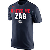 Nike Men's Gonzaga Bulldogs Blue Mantra Basketball T-Shirt