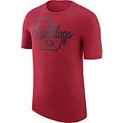 Nike Men's Georgia Bulldogs Red Local Elements T-Shirt
