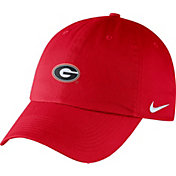 Nike Men's Georgia Bulldogs Red Heritage86 Small Logo Adjustable Hat